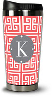 Dabney Lee Personalized Hot Tumblers - Greek Key