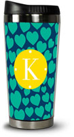 Dabney Lee Personalized Hot Tumblers - Love Struck