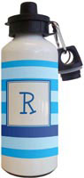 Kelly Hughes Designs - Water Bottles (Stripe Blue - Multi)
