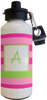 Kelly Hughes Designs - Water Bottles (Stripe Pink Mono)