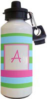 Kelly Hughes Designs - Water Bottles (Stripe Aqua - Multi)