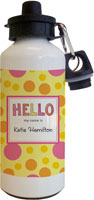 Kelly Hughes Designs - Water Bottles (Hello My Name Is)
