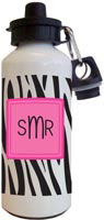 Kelly Hughes Designs - Water Bottles (Black Zebra)