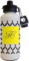 Kelly Hughes Designs - Water Bottles (Black Lattice)
