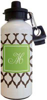 Kelly Hughes Designs - Water Bottles (Brown Lattice)
