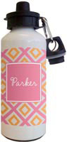 Kelly Hughes Designs - Water Bottles (Geo Pink)