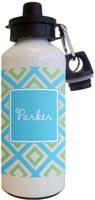 Kelly Hughes Designs - Water Bottles (Geo Blue)