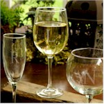 Wine Glasses & Barware