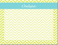 Devora Designs - Dry Erase Memo Boards (Chevron - Lime Sea)