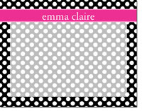 Devora Designs - Dry Erase Memo Boards (Dots - Ink Pink)