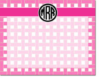 Devora Designs - Dry Erase Memo Boards (Thatch - Pink)