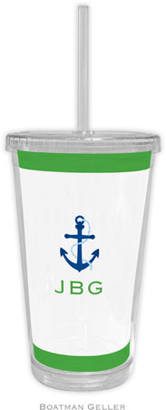 Boatman Geller - Create-Your-Own Personalized Beverage Tumblers (Icon with Border)