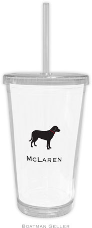 Boatman Geller - Create-Your-Own Personalized Beverage Tumblers (Lab Black)