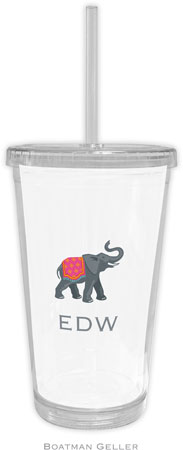 Boatman Geller - Create-Your-Own Personalized Beverage Tumblers (Elephant)
