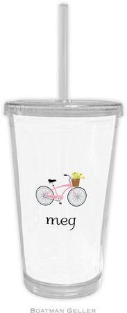 Boatman Geller - Create-Your-Own Personalized Beverage Tumblers (Bicycle)