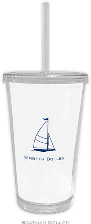 Boatman Geller - Create-Your-Own Personalized Beverage Tumblers (Sailboat Classic)