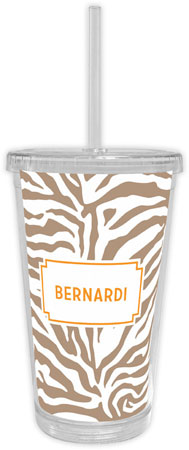 Boatman Geller - Create-Your-Own Beverage Tumblers (Zebra)