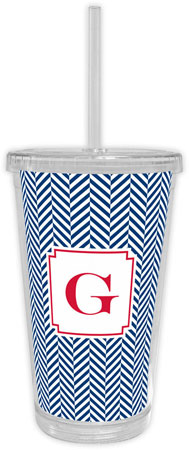 Boatman Geller - Create-Your-Own Beverage Tumblers (Herringbone)