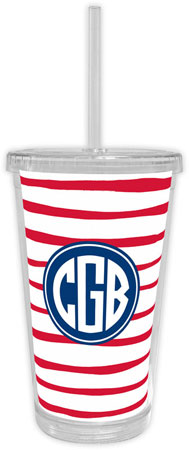 Boatman Geller - Create-Your-Own Beverage Tumblers (Brush Stripe)