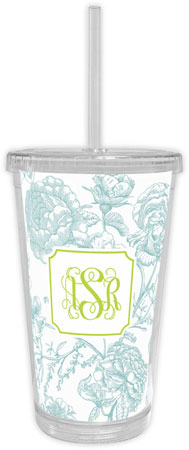 Boatman Geller - Create-Your-Own Beverage Tumblers (Floral Toile)