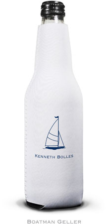 Boatman Geller - Create-Your-Own Personalized Bottle Koozies (Sailboat Classic)