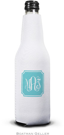 Boatman Geller - Create-Your-Own Personalized Bottle Koozies (Solid Inset Round Corners Preset)