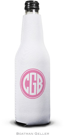 Boatman Geller - Create-Your-Own Personalized Bottle Koozies (Solid Inset Circle Preset)