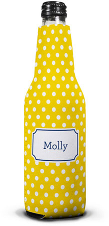 Boatman Geller - Create-Your-Own Bottle Koozies (Polka Dot)