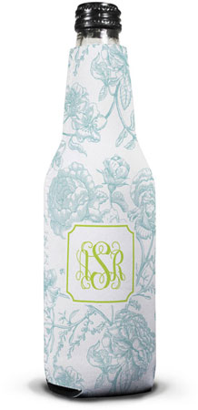Boatman Geller - Create-Your-Own Bottle Koozies (Floral Toile)