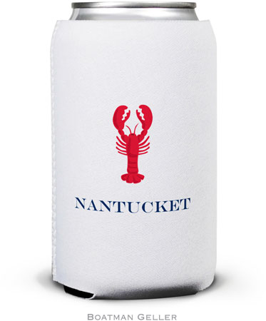 Boatman Geller - Create-Your-Own Personalized Can Koozies (Lobster)