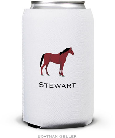 Boatman Geller - Create-Your-Own Personalized Can Koozies (Horse)