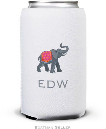Boatman Geller - Create-Your-Own Personalized Can Koozies (Elephant)