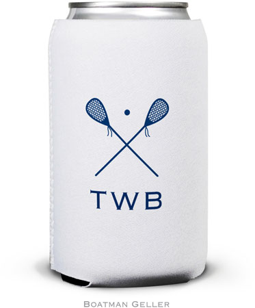 Boatman Geller - Create-Your-Own Personalized Can Koozies (Lacrosse)