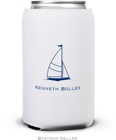 Boatman Geller - Create-Your-Own Personalized Can Koozies (Sailboat Classic)
