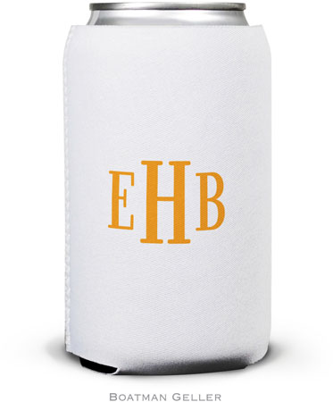 Boatman Geller - Personalized Can Koozies (Classic Monogram)