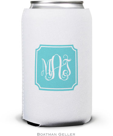 Boatman Geller - Create-Your-Own Personalized Can Koozies (Solid Inset Round Corners Preset)