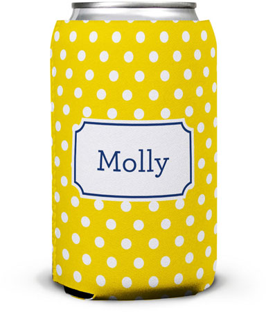 Boatman Geller - Create-Your-Own Can Koozies (Polka Dot)