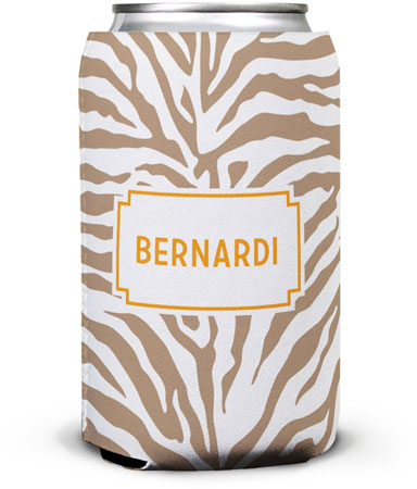 Boatman Geller - Create-Your-Own Can Koozies (Zebra)