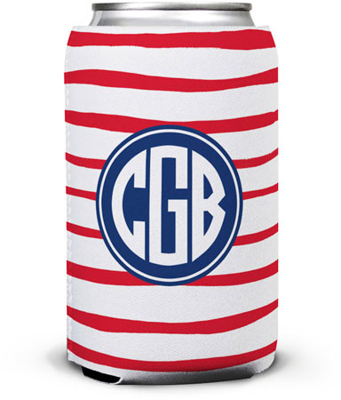 Boatman Geller - Create-Your-Own Can Koozies (Brush Stripe)