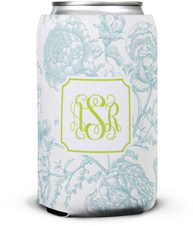 Boatman Geller - Create-Your-Own Can Koozies (Floral Toile)