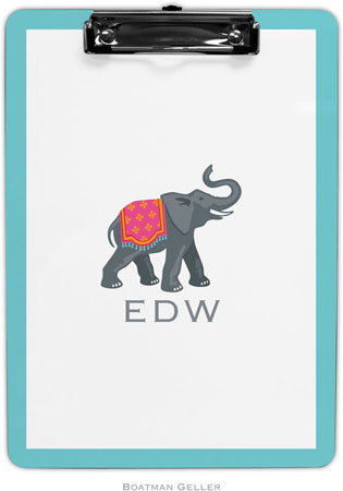 Boatman Geller - Create-Your-Own Personalized Clipboards (Elephant)