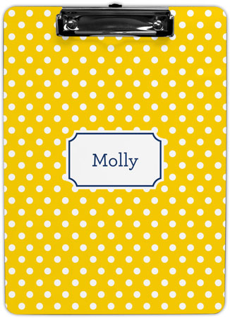 Boatman Geller - Create-Your-Own Clipboards (Polka Dot)