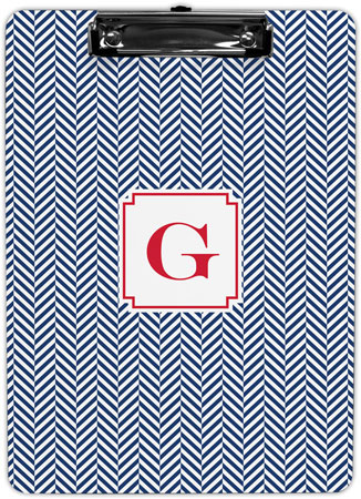 Boatman Geller - Create-Your-Own Clipboards (Herringbone)
