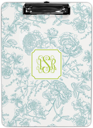 Boatman Geller - Create-Your-Own Clipboards (Floral Toile)