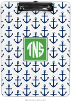 Boatman Geller - Personalized Clipboards (Anchors Navy Preset)