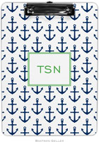 Boatman Geller - Personalized Clipboards (Anchors Navy)