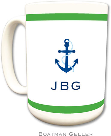 Boatman Geller - Create-Your-Own Personalized Coffee Mugs (Icon With Border)