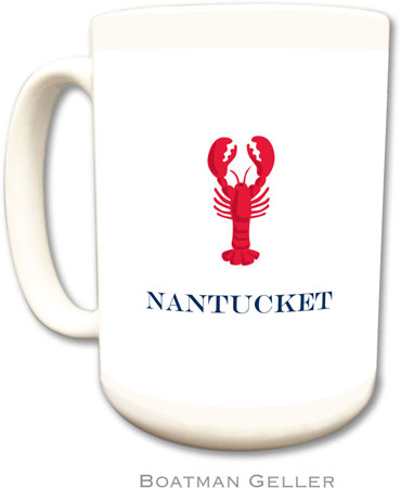 Boatman Geller - Create-Your-Own Personalized Coffee Mugs (Lobster)