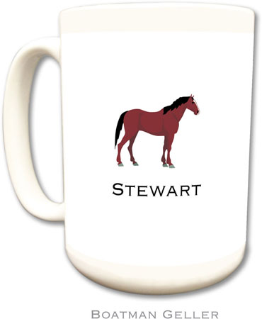 Boatman Geller - Create-Your-Own Personalized Coffee Mugs (Horse)