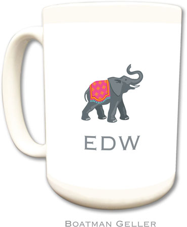 Boatman Geller - Create-Your-Own Personalized Coffee Mugs (Elephant)